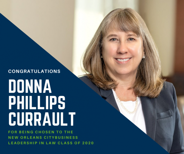 Donna Phillips Currault Leadership in Law 2020