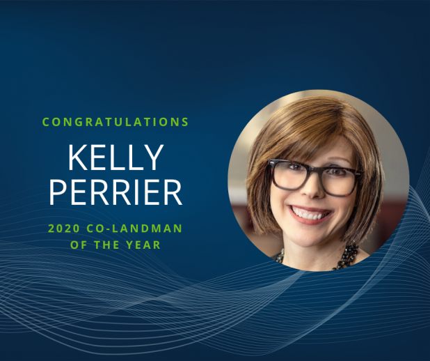 Kelly Perrier Named 2020 Co-Landman of the Year